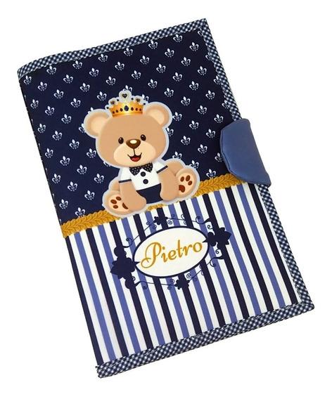 Capa Caderneta De Vacinação E Documentos Personalizado Urso