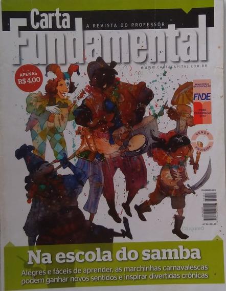 Revista Carta Fundamental Nº 35 02/2012 Na Escola Do Samba