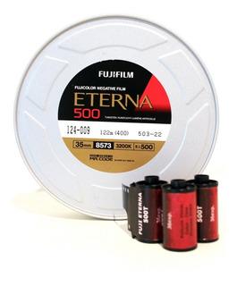 Pelicula 35mm Fuji Eterna 500t (cine)