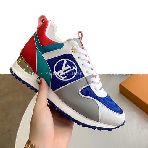 e24a72b9ce Tenis Louis Vuitton - Sapatos para Masculino Azul com o Melhores ...