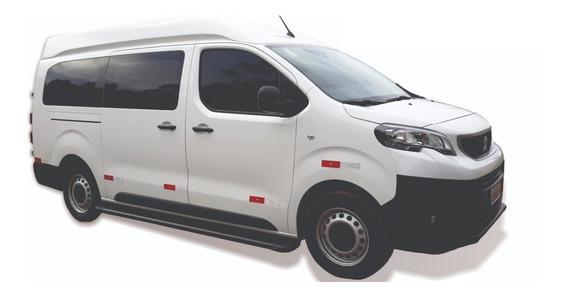 Estribo Aluminio Preto Peugeot Expert 2019 Lado Passageiro