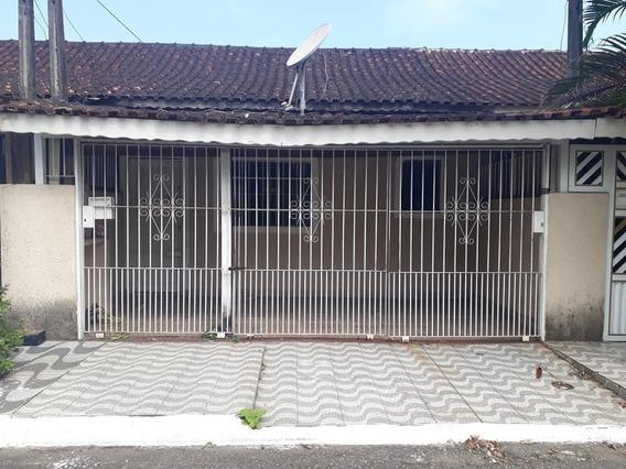 Casa Com 1 Dormitório Para Alugar Por R$ 800/mês - Mirim - Praia Grande/sp - Ca0869