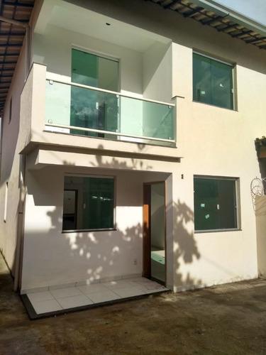 Casa Geminada 3 Quartos  No Bairro Jardim Vitória - Cn1598