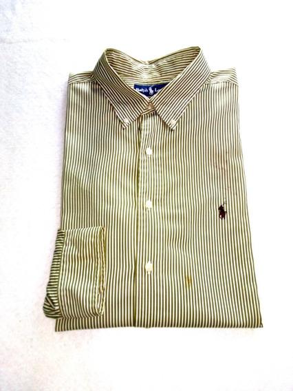 Camisa Ralph Lauren 127 Con Detalle