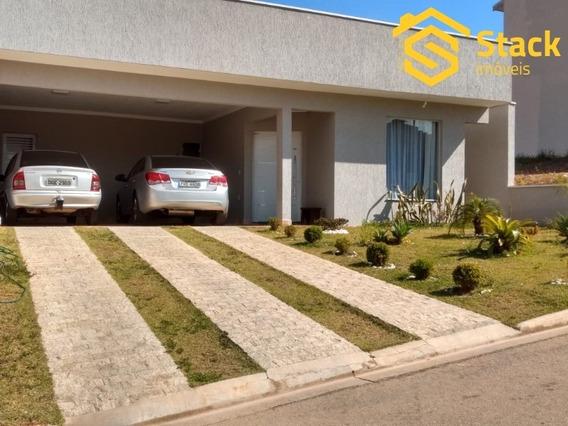 Excelente Casa No Condomínio Laguna Residencial Clube Localizado Na Cidade De Várzea Paulista - At 364m² E Ac 200m². Casa Térrea Com 03 Dormitórios Se - Ca01312