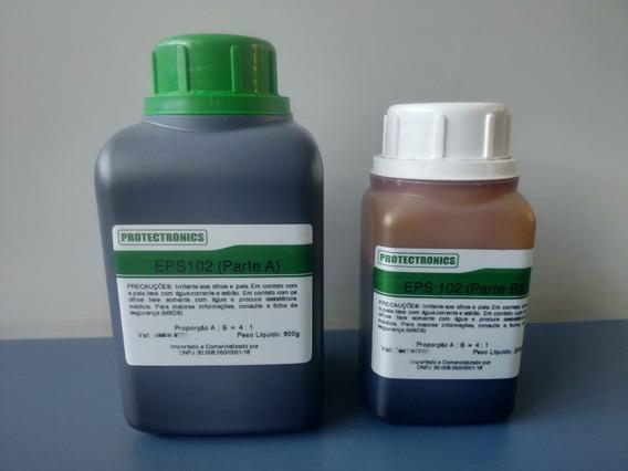 Resina Epóxi Para Encapsulamento De Eletrônicos 1 Kg (preta)