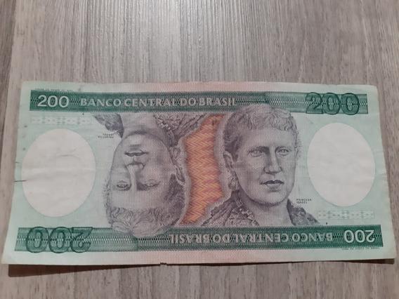 Nota 200 Duzentos Cruzeiros