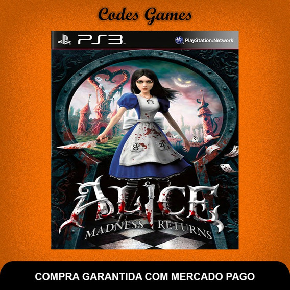 Alice Madness Returns - Ps3 - Pronta Entrega