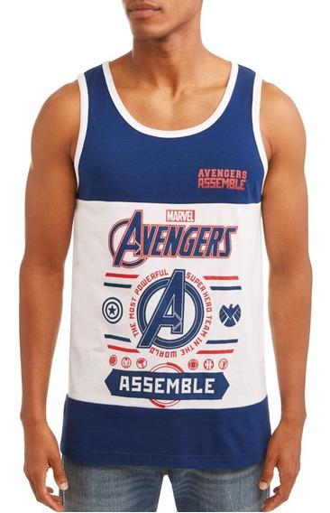 Marvel Avengers Musculosa, Xl Nueva Original Usa - Cordoba