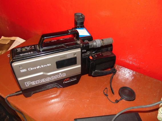 Antigua Filmadora Panasonic Con Valija, Funcionando
