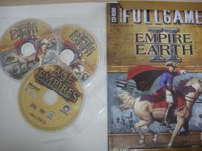 Empire Earth Ii Game Jogo P/ Pc - Midia Física Completo Port
