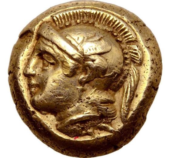 Moeda Grega Da Ionia, Phokaia El Hekte. Cerca De 478-387 Ac.