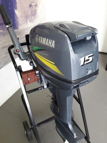 Motor De Popa Yamaha 15hp 2 Tempos. 0km 2021