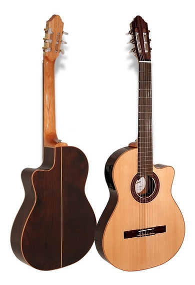Guitarra Criolla Fonseca 41kec Con Eq - Cuotas