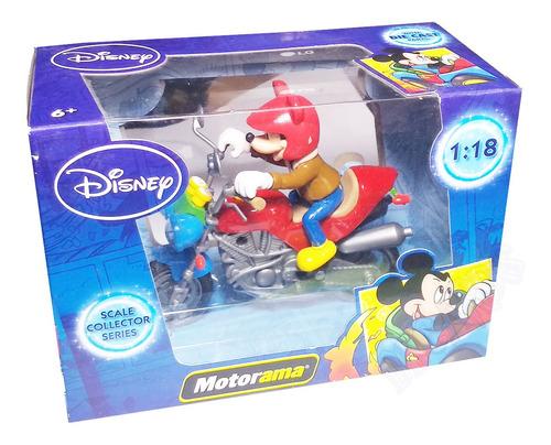 Miniatura Disney Mickey Motorama Escala Colecionador 1:18