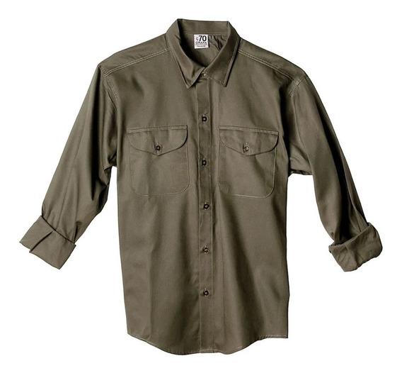 Camisa De Trabajo Ropa Grafa Pantalon/casaca Talles 38 Al 48