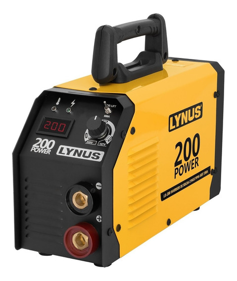 Inversora De Solda Lis-200 Power 20-180a Bivolt - Lynus
