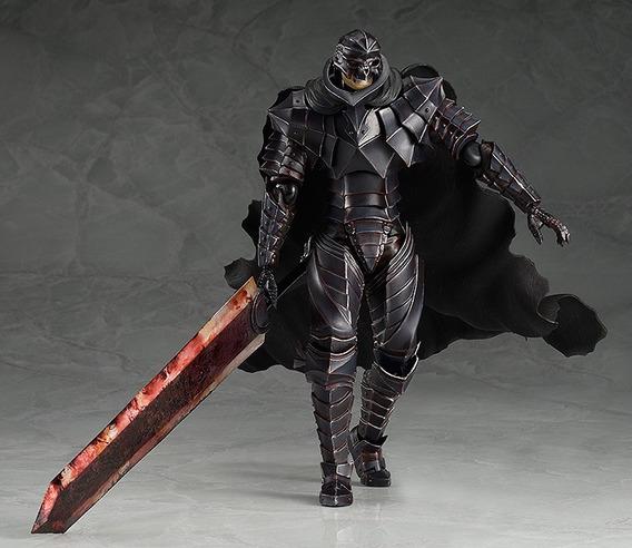Berserk Figma Guts Armored Repaint Skull Pronta Entrega!
