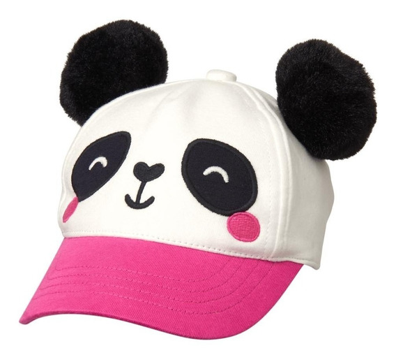 Gymboree Gorra Osito Panda Niña Talla 12-14ms Nueva $149
