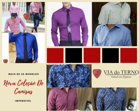 Camisa Social Masculina Mais De 30 Modelos Via Do Terno 2019
