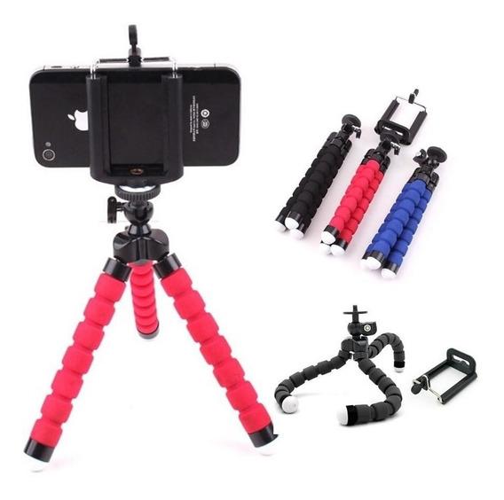 Suporte Tripe Flexível Celular Smartphone Gravar Vídeo Foto