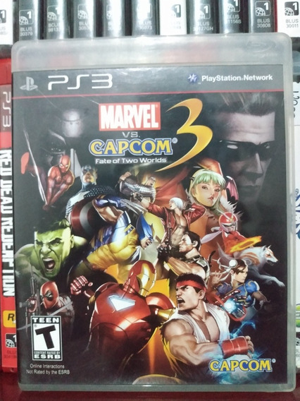 Marvel Vs Capcom 3 Fate Of Two Worlds Ps3 | Sem Juros