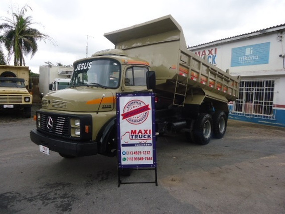 Mb 2220, Traçado, Caçamba, Muito Bom Caminhão