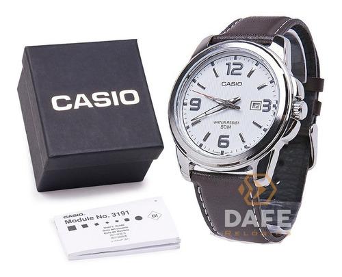 Relógio Casio Mtp-1314 Analógico Cronometro C/ Caixa E Nf