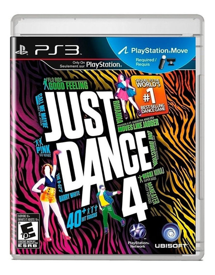 Just Dance 4 Ps3 Midia Fisica Pronta Entrega