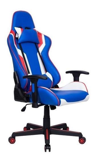 Cadeira Gamer Pelegrin Em Couro Pu Reclinável Pel-3010