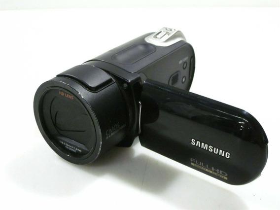 Filmadora Samsung Sc-hmx20c Full Hd Card Camcorder Com 8gb