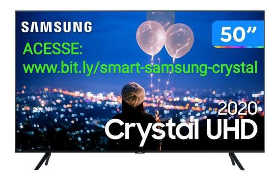 Smart Tv Crystal Uhd 4k Led 50 Samsung (com Nota Fiscal)