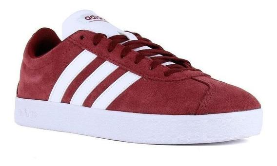 Tenis adidas Tenis Vl Court 2.0 - Rojo - Da9855