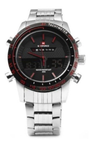 Relógio Masculino Naviforce Mod Nf9024 Esporte Militar 30m