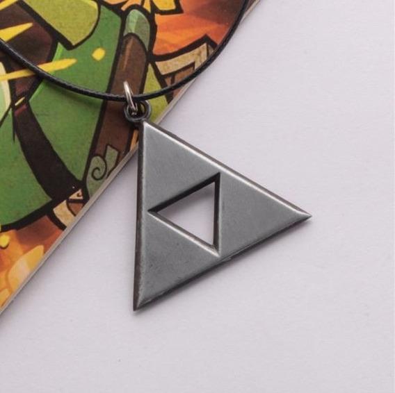 Collar Dije Zelda Link La Trifuerza Silver Geek Gamer