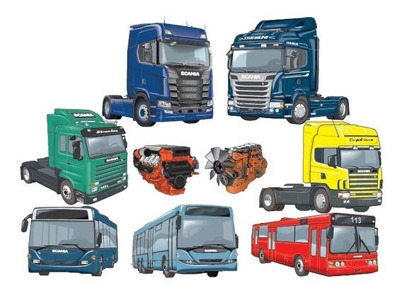 Catálogo Eletrônico Peças + Reparos Scania 2019 05 Completo