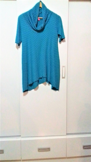 Blusa Azul Linda
