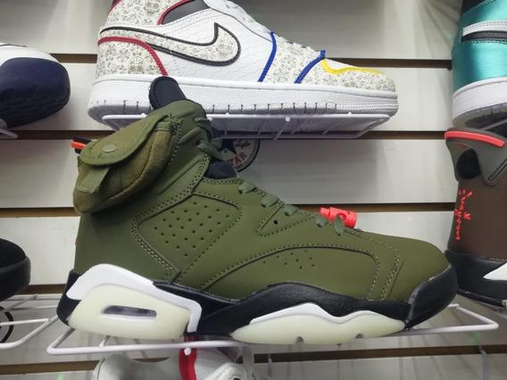 Sneakers - Jordan Retro 6 Travis Scott Cactus Jack