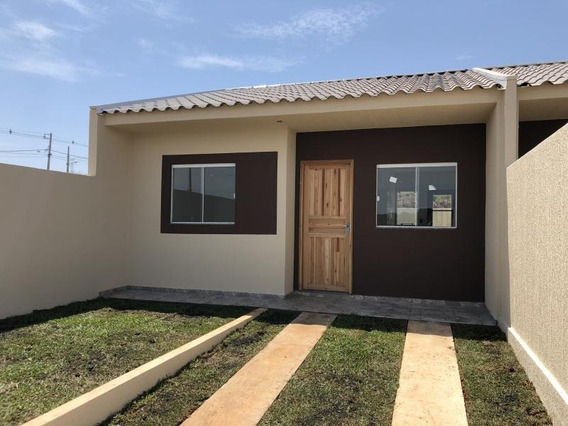 Casa Para Venda Em Ponta Grossa, Uvaranas, 2 Dormitórios, 1 Banheiro, 1 Vaga - Felicita_1-1013110