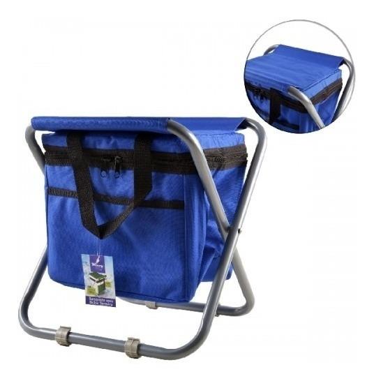 Cadeira Articulada Praia/pesca Com Bolsa Térmica