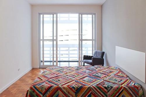 Imagem 1 de 11 de Apartamento Studio De 35m² De Área Útil, Quarto, Cozinha, Varanda, Banheiro Na Consolação - Cf40119