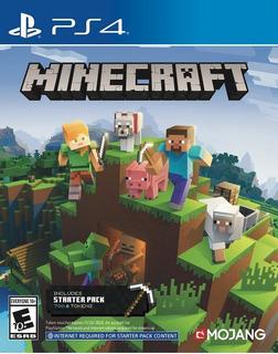 Minecraft Ps4, Entrega El Mismo Dia! Digigamers.arg