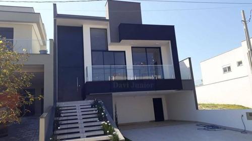 Casa Com 3 Dormitórios À Venda, 197 M² Por R$ 950.000,00 - Condomínio Portal Da Primavera - Sorocaba/sp - Ca2420