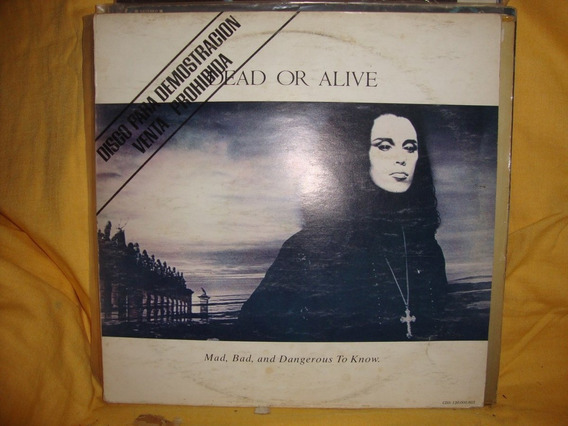 Vinilo Dead Or Alive Mad Bad And Dangerous To Know Si1