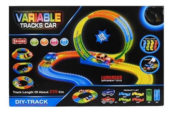 Pista Flexible 116 Pcs Con 1 Auto Luminoso 1728493 Full