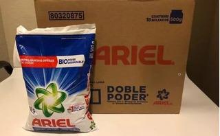Detergente En Polvo Ariel De 500 Gr.