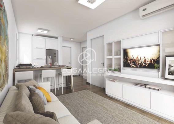 Apartamento Com 1 Dorm, Rondônia, Novo Hamburgo - R$ 155 Mil, Cod: 1443528 - V1443528