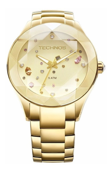 Relógio Technos Feminino Crystal 2039atdtm/4x Dourado Oferta