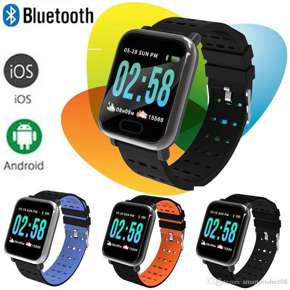 Relógio Smart Bracelet Monitor Cardíaco Pressão Arterial