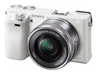 Kit Camera Sony Alpha A6000 - 846 Clicks Apenas